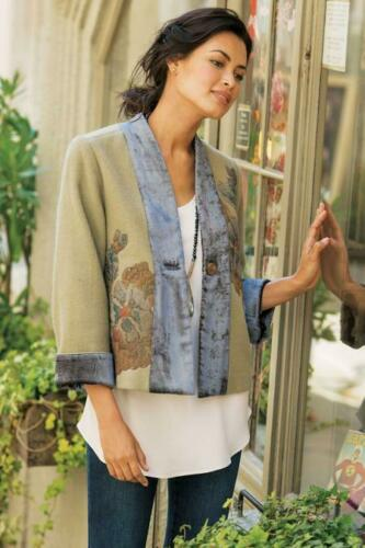 SOFT SURROUNDINGS Adagio Boiled Wool Jacket-NEW Sizes  M,L,