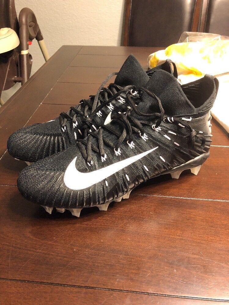 NEW Mens Nike Sz 14 Alpha Menace Elite Football Cleats Black/White 871519-010 Seasonal price cuts, discount benefits