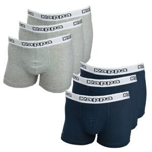 Kappa Boxershorts Cedrick 6-er Pack, Größe S-5XL, Unterhose, Unterwäsche-Herren