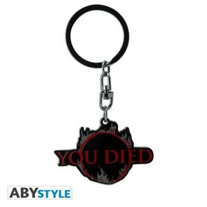 Dark-Souls-Metall-Schluesselanhaenger-You-Died-ABYStyle