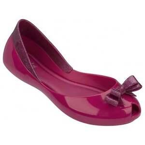 da06a83df Détails sur Melissa Shoes Enfants Reine Ballerines, Paillettes Rose