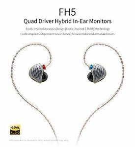 FiiO-FH5-Quad-Driver-Audiophile-Grade-Hybrid-In-Ear-Monitors-Black