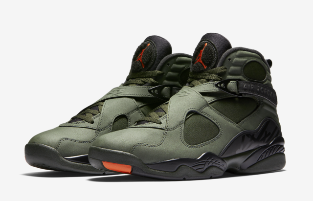24cc291e5b3c1c Nike Air Jordan 8 Retro Take Flight Size 4-15 Sequoia Black Orange 305381  305
