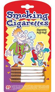 Fine fumo sigarette Scherzo Articolo Nuovo-Party Articolo Decorazione Carnevale faschi