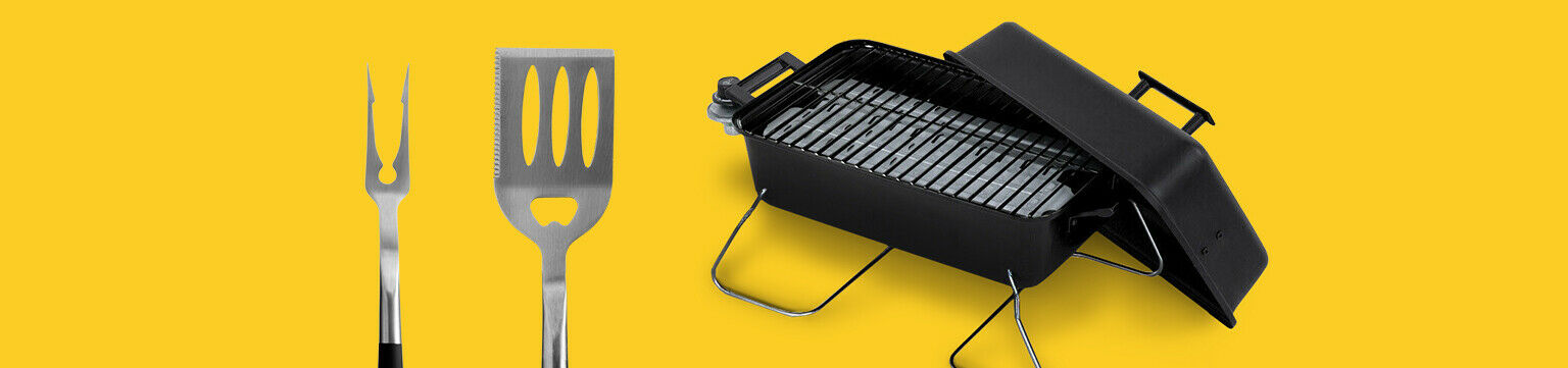 Grills and more up to 50% off.