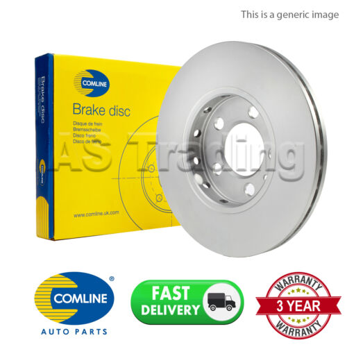 REAR COMLINE COATED BRAKE DISC FOR FORD FOCUS C-MAX 2.0 TDCI 1.6 2 1.8 2003-07