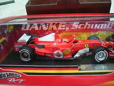 Ferrari Danke Schumi     Schumacher 2006 Hockenheim 1:18 Hot Wheels