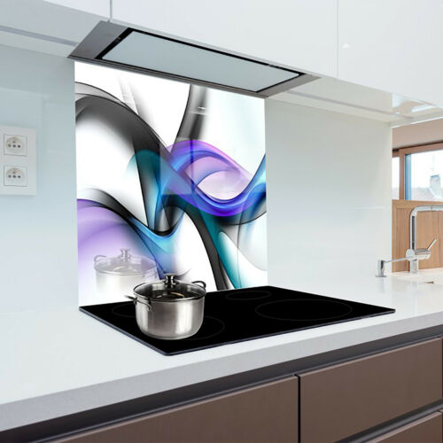 Kitchen Glass Splashback Heat Resistant Toughened Glass 60x65cm