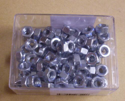 Schlüsselweite 10 mm verzinkt 80 Muttern M6 Schrauben - Neu