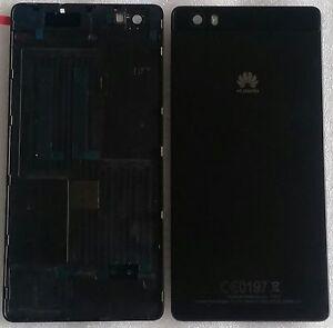 Coque-Arriere-Couvercle-de-boitier-Batterie-Cadre-Noir-Huawei-Ascend-P8-Lite