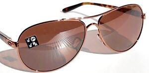 8a184935716 NEW  Oakley TIE BREAKER Rose Gold AVIATOR w POLARIZED Women s ...