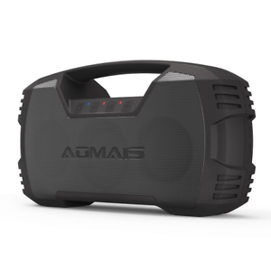 AOMAIS GO blueetooth Speakers,Waterproof Portable Indoor Outdoor Wireless Stereo