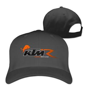 KTM Supermotard Men And Women Motorcycle Black Adjustable Cotton Hat Fashion Cap