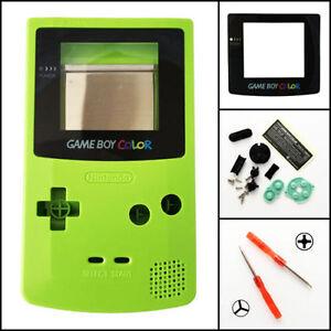 gbc nintendo game boy color replacement housing shell screen lens