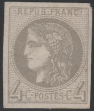 """FRANCE STAMP TIMBRE N° 41 Ba """" CERES BORDEAUX 4c GRIS JAUNATRE"""" NEUF (x) TB J781"""