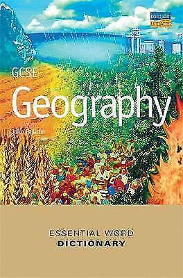 """AS NEW"" GCSE Geography Essential Word Dictionary, Pallister, John, Book"