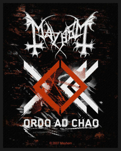 Mayhem Ordo Ad Chao Patch 7.5cm x 10cm