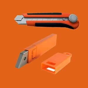 how to break off blade on box cutter