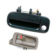 B398 For 92-96 93 94 95 Toyota Camry Outside Door Handle Green 6P2 Rear Left