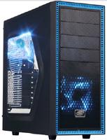 Custom Built Desktop Gaming PC Quad Core Computer System Fast New 8GB 1TB AMD