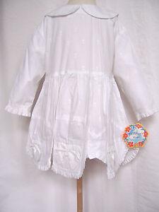 Oilily-Kleid-Gr-92-104-116-128-140-152-NEU-Maedchen-festlich-mit-Stickerei-weiss