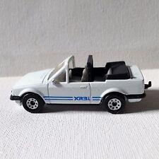 Matchbox Lesney 1985 17-I v1 Ford Escort Cabriolet  XR3i 1/56 White Macau