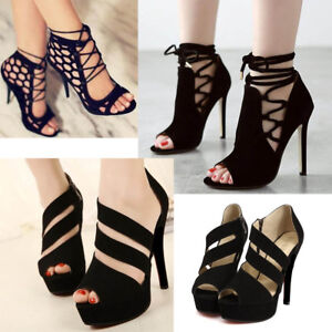 Women-Summer-Lace-Up-Sandals-Bandage-Stiletto-Open-Toe-High-Heels-Party-Shoes-CA