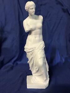"""Details about Nude Woman Venus de Milo Female Statue / White Professionally  3D Printed 9 1/8"""""""