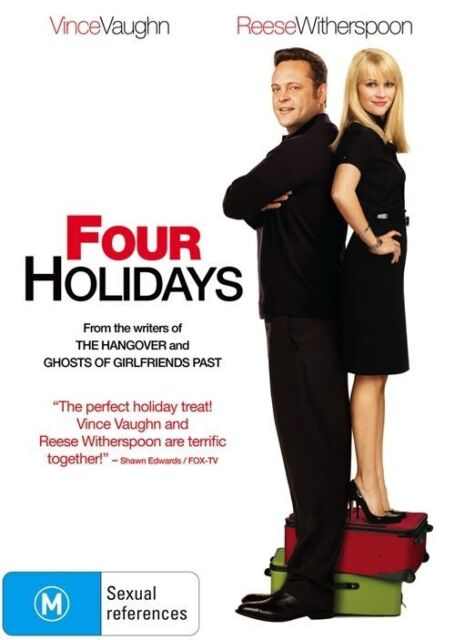 Four Holidays (DVD, 2009) Reese Witherspoon, Sissy Spacek, Vince Vaughn