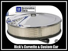 1966-1970 Corvette 427 Chrome Air Cleaner Assembly** Offically licensed GM Part