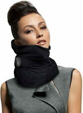 Travel Pillow Soft Neck Support - Machine Washable, Gray, Black, or Red Plaid