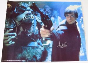Mark-Hamill-STAR-WARS-RETURN-OF-JEDI-Signed-Autograph-17x22-1983-Poster-BAS-LOA