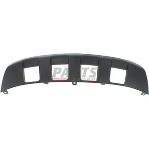 NEW FRONT LOWER VALANCE CHROME FITS 2012-2015 CHEVROLET CAPTIVA SPORT 25777982
