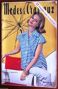 Mode-amp-Travaux-du-7-1960-Poupee-Bebe-Michel