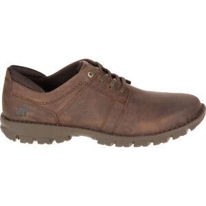 6686cd3977 La imagen se está cargando CAT-Caterpillar-Hombre-Caden-marron-oscuro- zapatos-de-