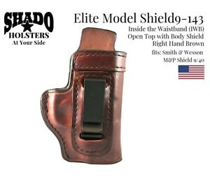 SHADO-Leather-Holster-USA-Elite-Model-SHIELD9-143-Right-Hand-Brown-IWB-S-amp-W
