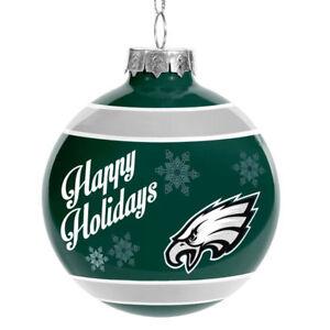 Philadelphia Eagles Glass Ball Ornament Christmas Holidays ...