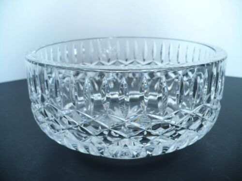 Tyrone Crystal Cut Glass Round Bowl Ireland Approx 675 Diameter