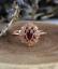 1-6ct-Oval-Cut-Red-Garnet-Engagement-Ring-14k-Rose-Gold-Finish-Vintage-Milgrain thumbnail 3