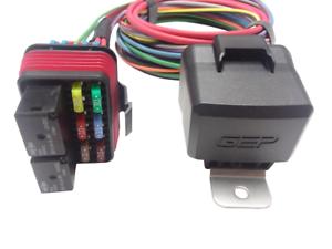 [DIAGRAM_5LK]  GEP Universal Pre-wired Waterproof Mini Fuse Relay Panel Box Holder 80 AMP  12V | eBay | Waterproof Fuse Relay Box |  | eBay