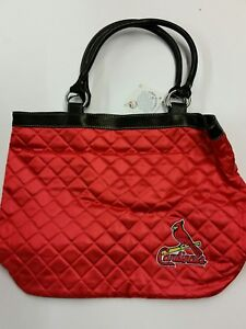 Image Is Loading Mlb St Louis Cardinals Quilted Tote Bag New