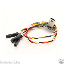 MOBIUS USB AV OUT FPV CABLE WITH CHARGING GIMBAL FATSHARK IMMERSION RC QUAD TX