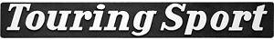 Auto-3D-Relief-Schild-TOURING-SPORT-Emblem-20-cm-HR-Art-14339-selbstklebend