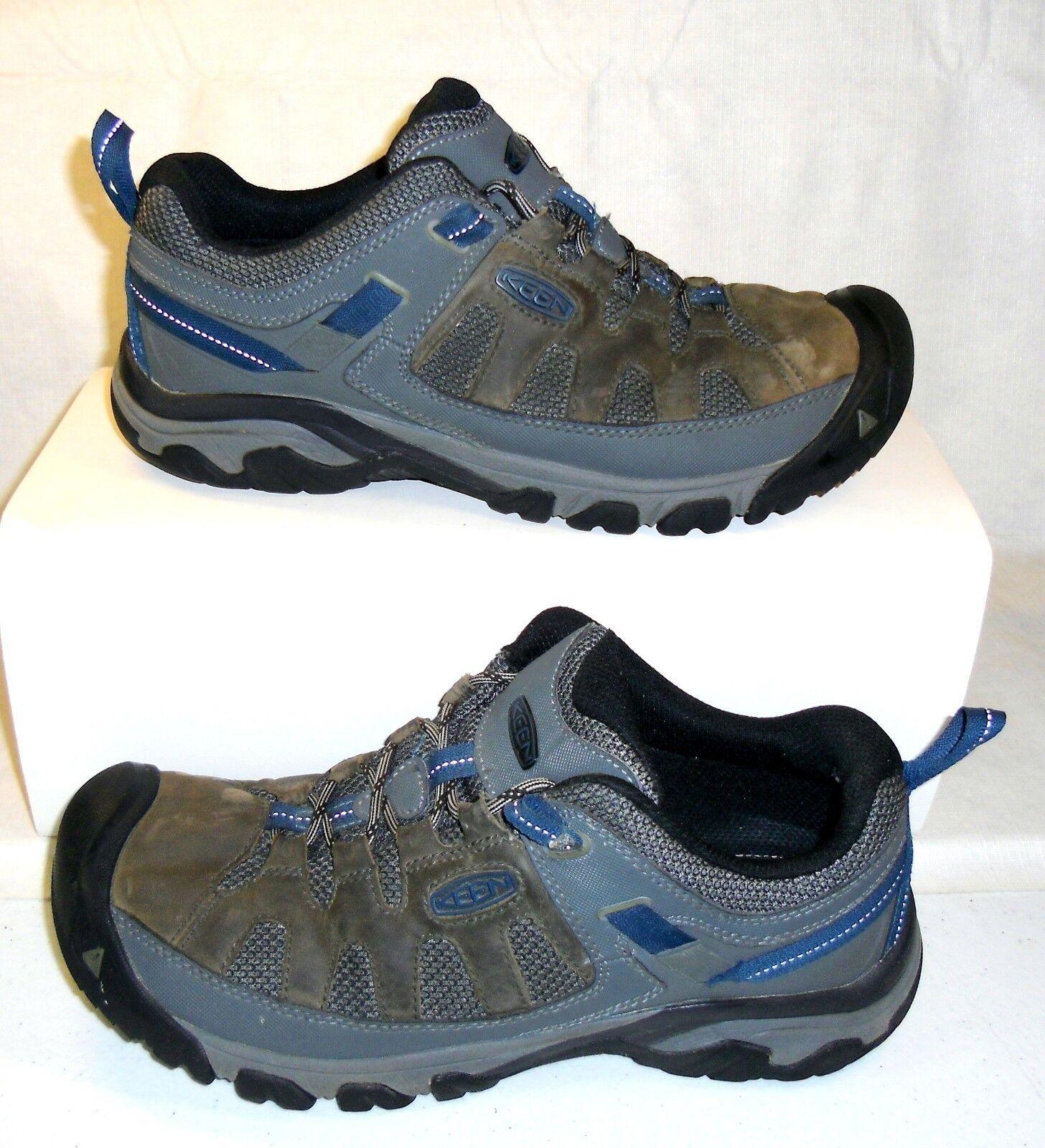 KEEN 1018576 Men's Targhee Vent Trail Hiking Walking shoes Brown bluee US Size 11