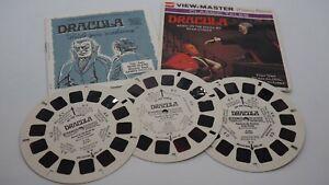 View Master Dracula Classic Tales Bram Stoker Reel Packet & Booklet 1976 B324