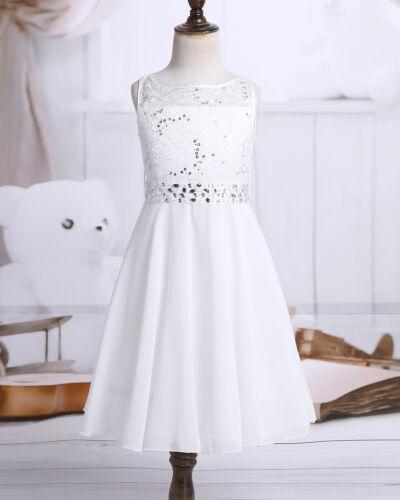 Flower Girls Dress Kids Birthday Wedding Bridesmaid Gown Pageant Formal Dresses