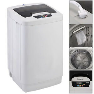 Portable washing machine washer small automatic lbs spin new - Small space washing machines set ...