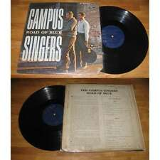 CAMPUS SINGERS - Road Of Blue Rare US LP Folk Blues Argo Folk