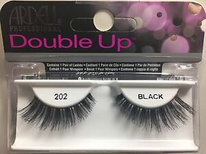 2b5def576e8 LOT OF 3) Ardell Double up Lashes 202 Authentic Ardell Eyelashes ...
