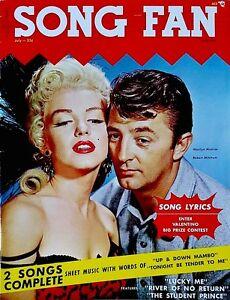 Marilyn Monroe Magazine 1954 Song Fan Robert Mitchum River Of No Return Polowny